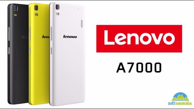 Lenovo A7000 - první pohled