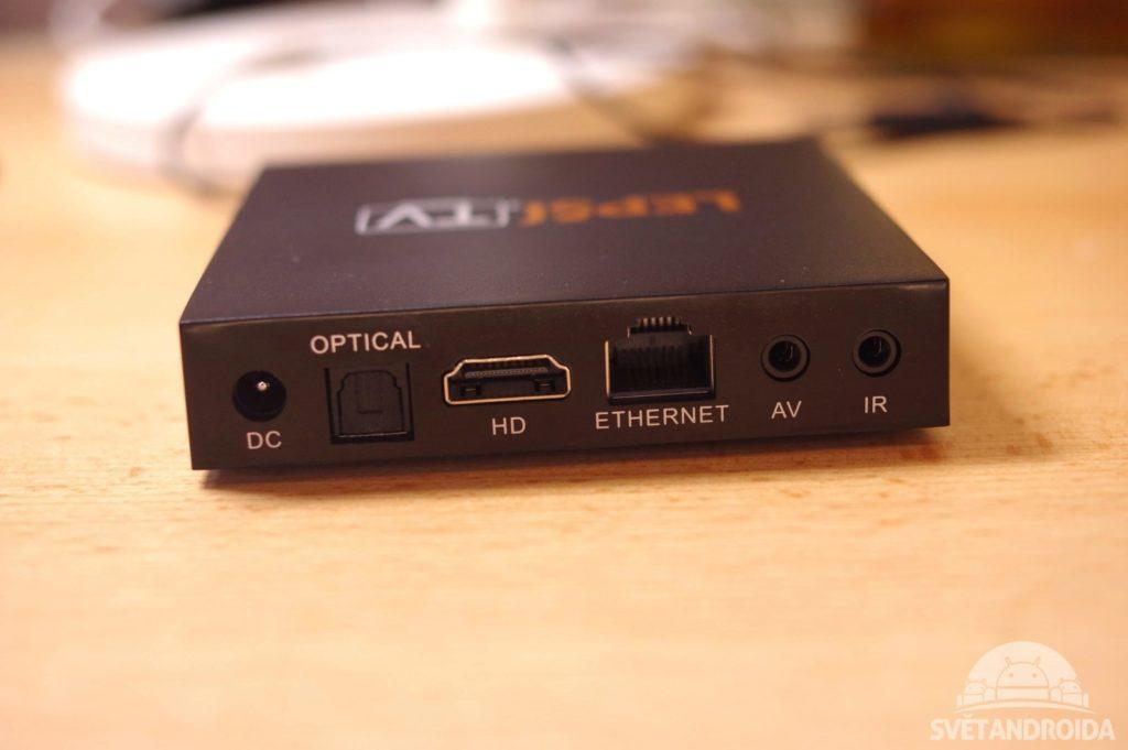 Lepší.TV BOX konektory