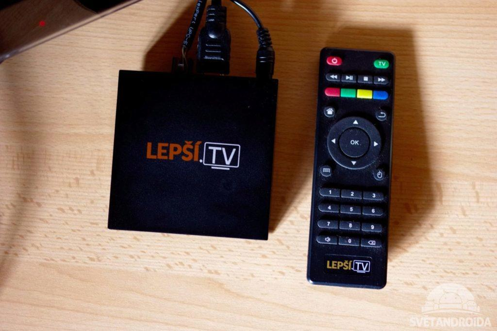 Lepší.TV BOX ovladač