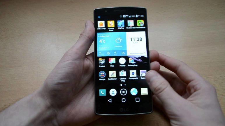 LG G Flex 2 - první pohled