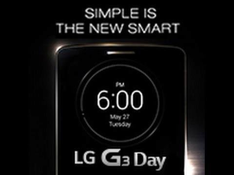 LG G3 day - Livestreaming @London, UK