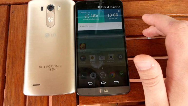 LG G3 - první pohled