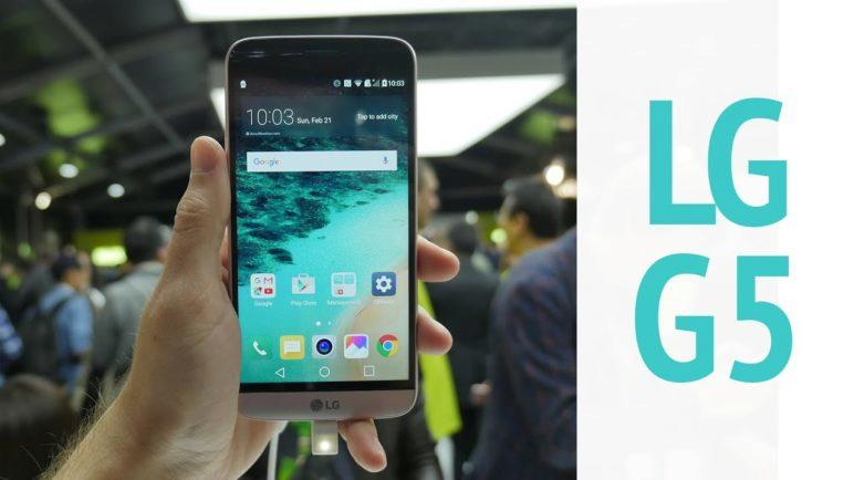 LG G5 první pohled na MWC 2016