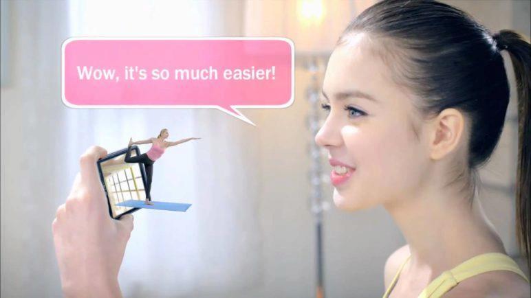LG Optimus 3D P920 - User Scene: 3D Life Booster for Yoga
