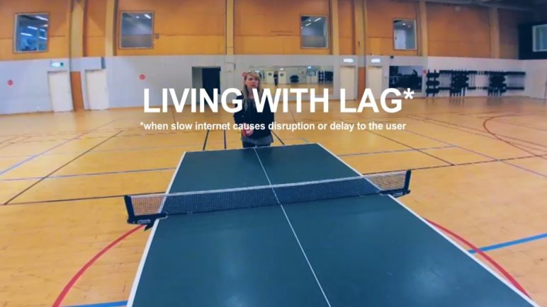 living with lag - lag view