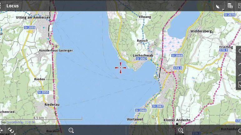 Locus Map - first steps