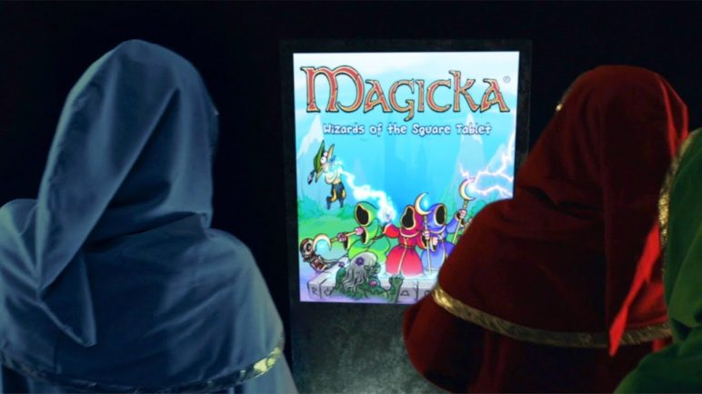 Magicka: Wizards of The Square Tablet Live Action Trailer