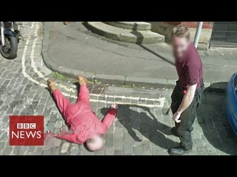 "Man fakes a ""murder"" on Google Street View - BBC News"