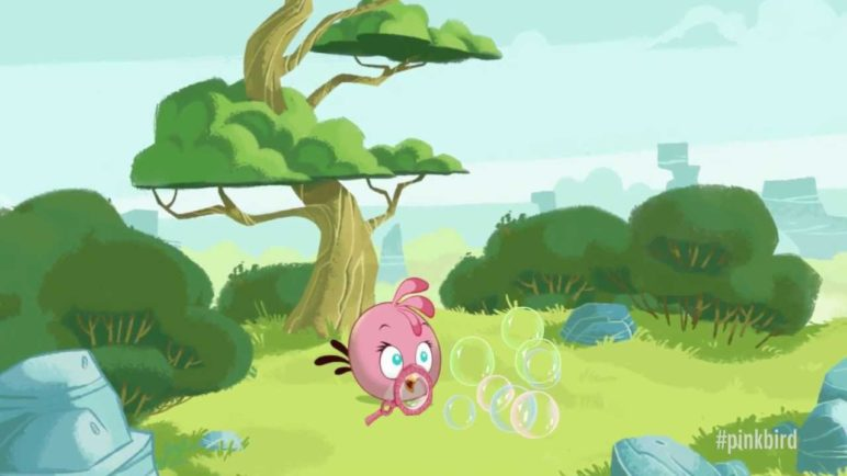 Meet the Pink Bird: A new member of the Angry Birds!