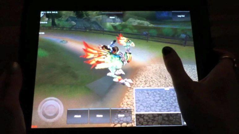 """Midgard Rising starting zone """"iPad in-hand"""" - 3D iOS & Android MMORPG"""