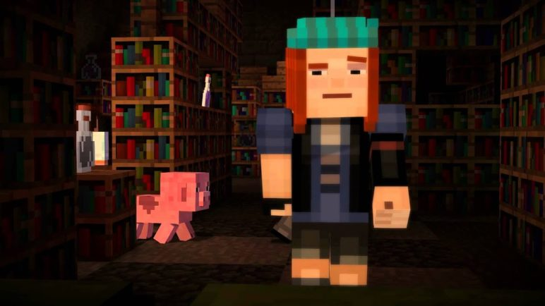 Minecraft: Story Mode Premier Teaser Trailer from Minecon 2015
