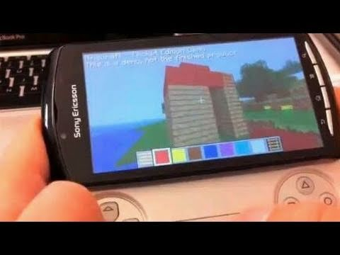 Minecraft Xperia Play - E3 2011: Details Exclusive