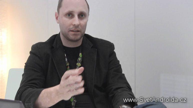 Minirozhovor s Igorem Staňkem z nVidie na MWC 2012