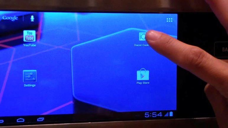 Mitts-on with the Dacor Android-powered oven