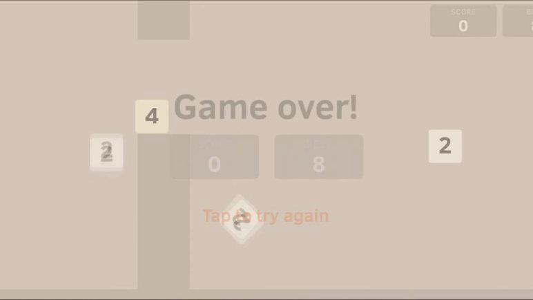 [Mobile Gameplay] Flappy48 for Android