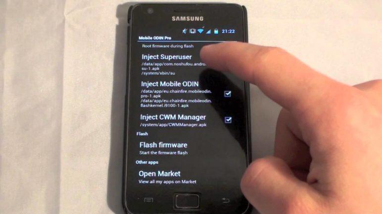 Mobile ODIN - Samsung Galaxy S2