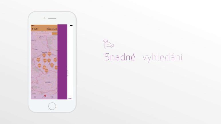 Mobilní aplikace Moje Garáž