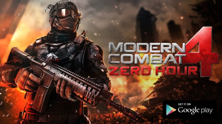 Modern Combat 4: Zero Hour - GooglePlay Trailer