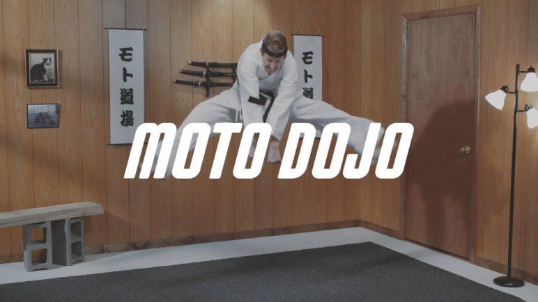 Moto Dojo: Flash On. Flash Off.