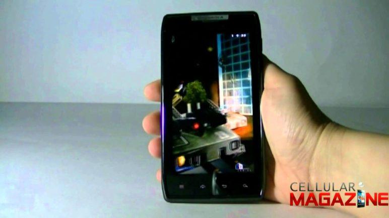 Motorola RAZR test Neocore
