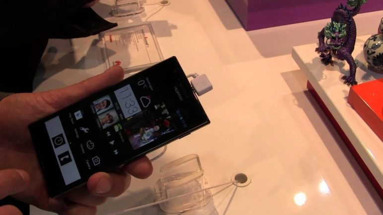 MWC2013: Huawei Ascend P2