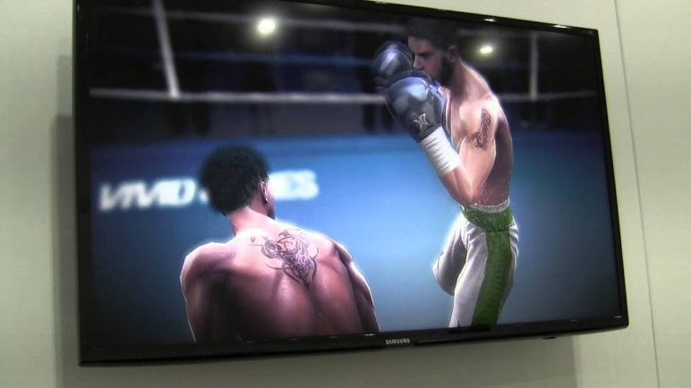 MWC2013: Project Shield (Tegra 4) - playing on TV