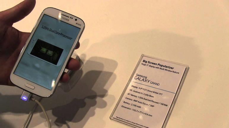 MWC2013: Samsung Galaxy Grand