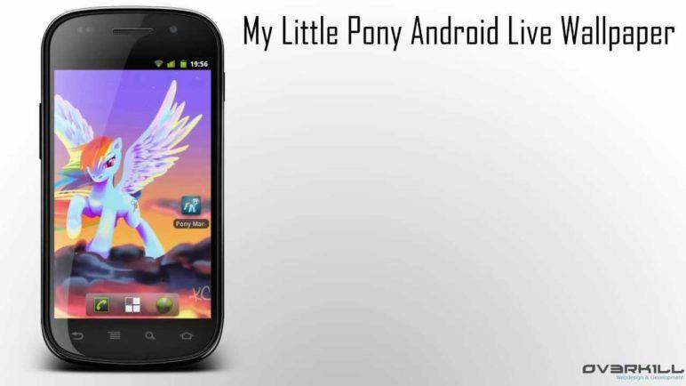 My Little Pony - Friendship is Magic | Android Live Wallpaper