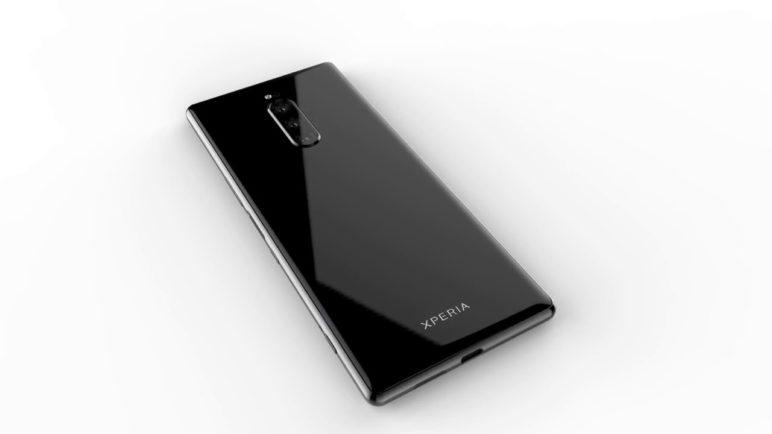 MySmartPrice Exclusive - Sony Xperia XZ4 CAD Renders