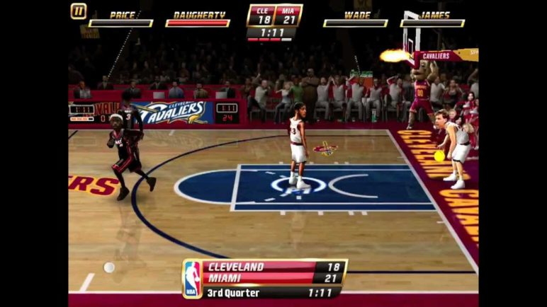 NBA JAM for iOS: CAVS vs. HEAT (Montage Replay) [HD]