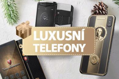 nejlepší luxusni telefony vanoce