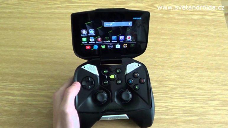 Nepovedené záběry a přebrepty (recenze Nvidia Shield)