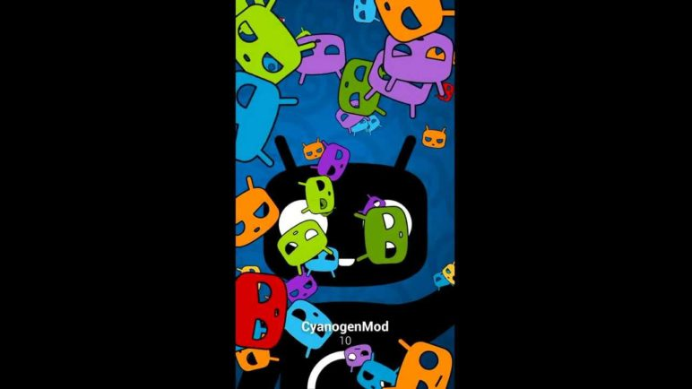 New CyanogenMod 10 EasterEgg (Android 4.1, Jellybean) - HTC One S