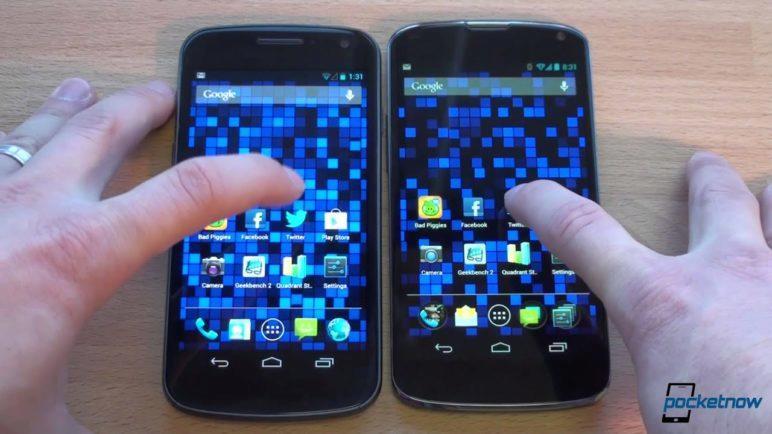 Nexus 4 vs Galaxy Nexus | Pocketnow