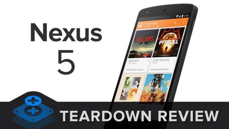 Nexus 5 Teardown Review