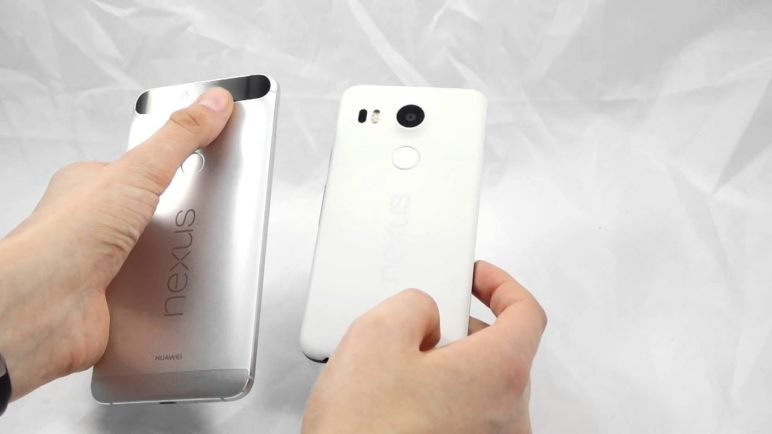Nexus 5X vs. Nexus 6P - první pohled