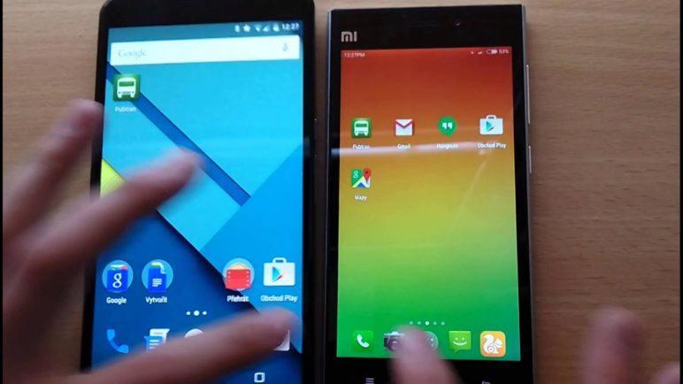 Nexus 6 vs. Xiaomi Mi3