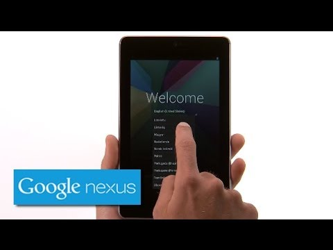 Nexus 7 (2012) - Getting Started