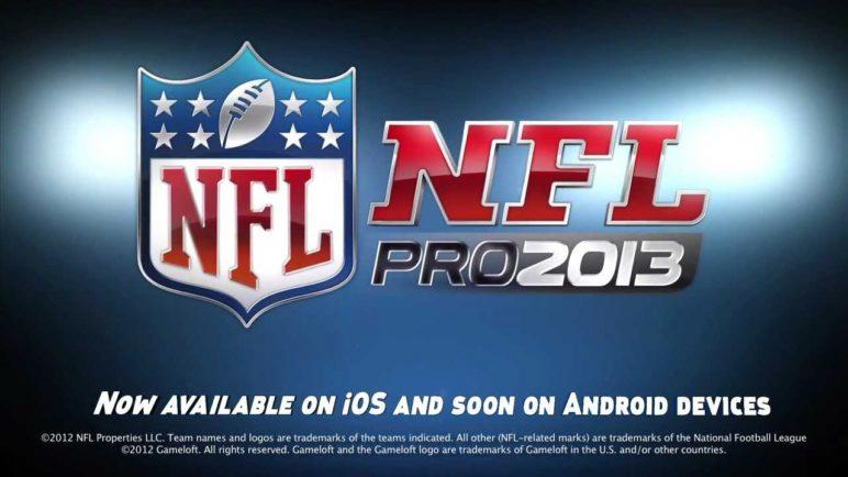 NFL Pro 2013 - iOS/Android - Official Trailer