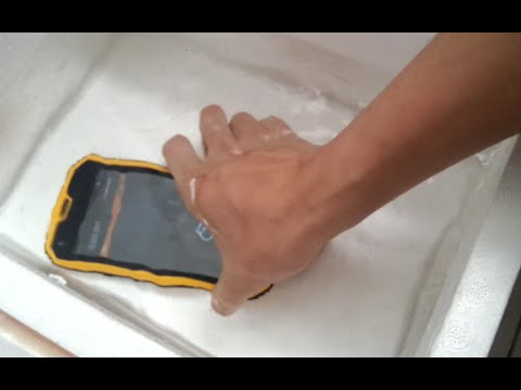 NO.1 M2 Android 5.0 3-Proof Smartphone Waterproof Test