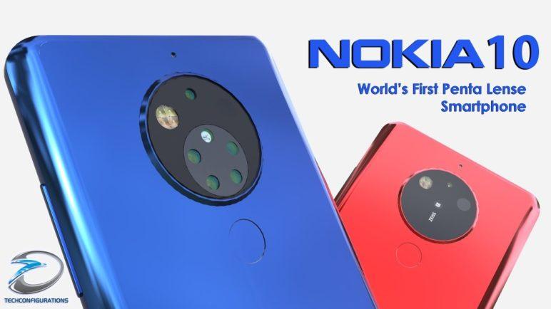 Nokia 10 Introduction,World's First Penta Lense Camera Smartphone |TechConfigurations