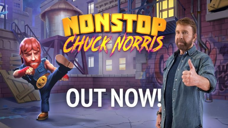 Nonstop Chuck Norris - Download for Free (iOS/Android)!