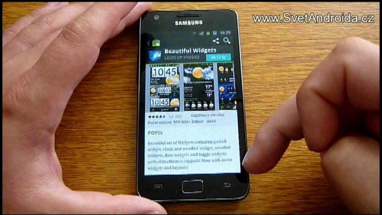 Nový Android Market - nové funkce a vzhled