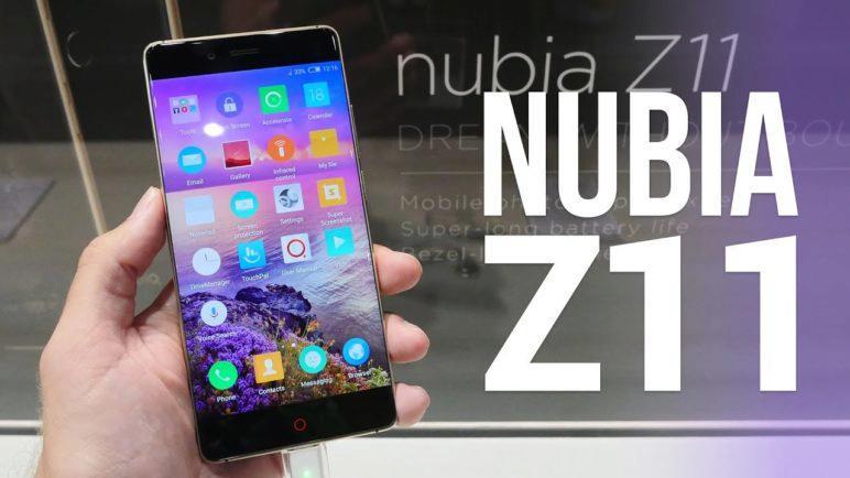 Nubia Z11