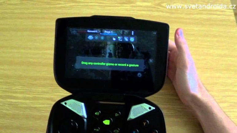 Nvidia Shield mapování gamepadu