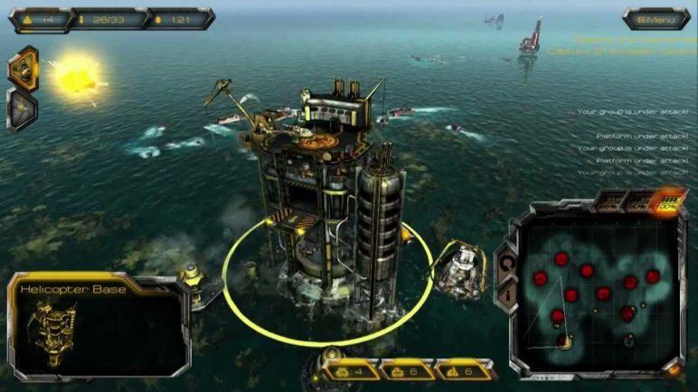 Oil Rush gameplay - Find submarine