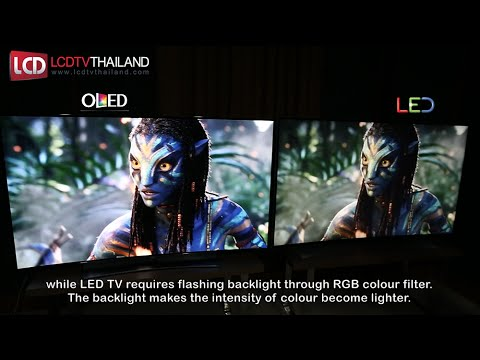 OLED VS LED TV : Side by Side Comparison !