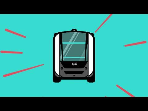 Olli - Local Motors' First Self-Driving Vehicle