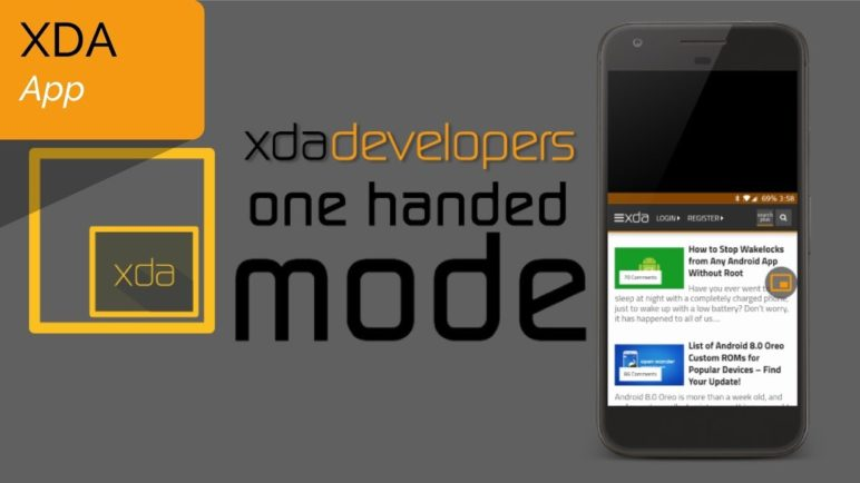 One Handed Mode by XDA Brings iOS Reachability to Any Android Phone