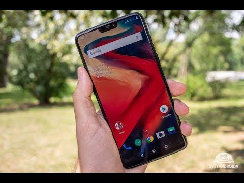 OnePlus 6 - UNBOXING - SvetAndroida.cz